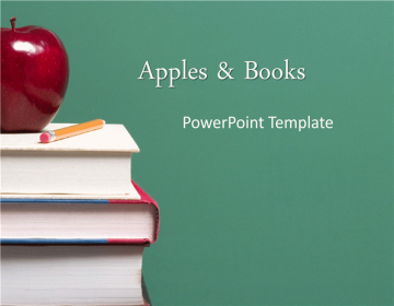Apple Powerpoint Template and Apple Template