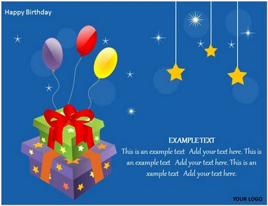 Birthday Powerpoint Template and Happy Birthday Cake Powerpoint Templates Ppt Backgrounds