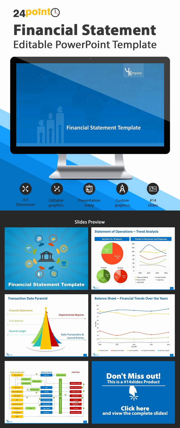 Financial Powerpoint Template Of Financial Statement Powerpoint Template Use Our 13 Slide