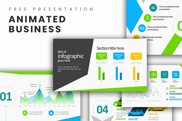 Free Business Ppt Template or Animated Business Infographics Free Powerpoint Template