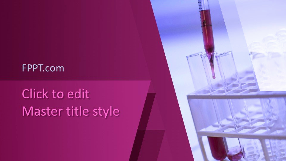 Free Science Powerpoint Template or Free Science Laboratory Powerpoint Template Free