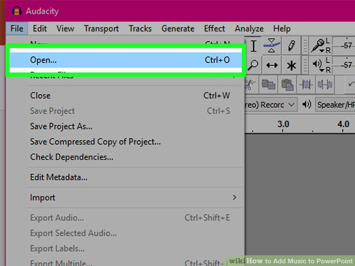 How to Add Music to Powerpoint Presentations and 3 Ways to Add Music to Powerpoint Wikihow