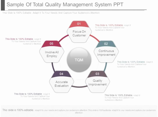 Quality Management Ppt Of Style Cluster Surround 5 Piece Powerpoint