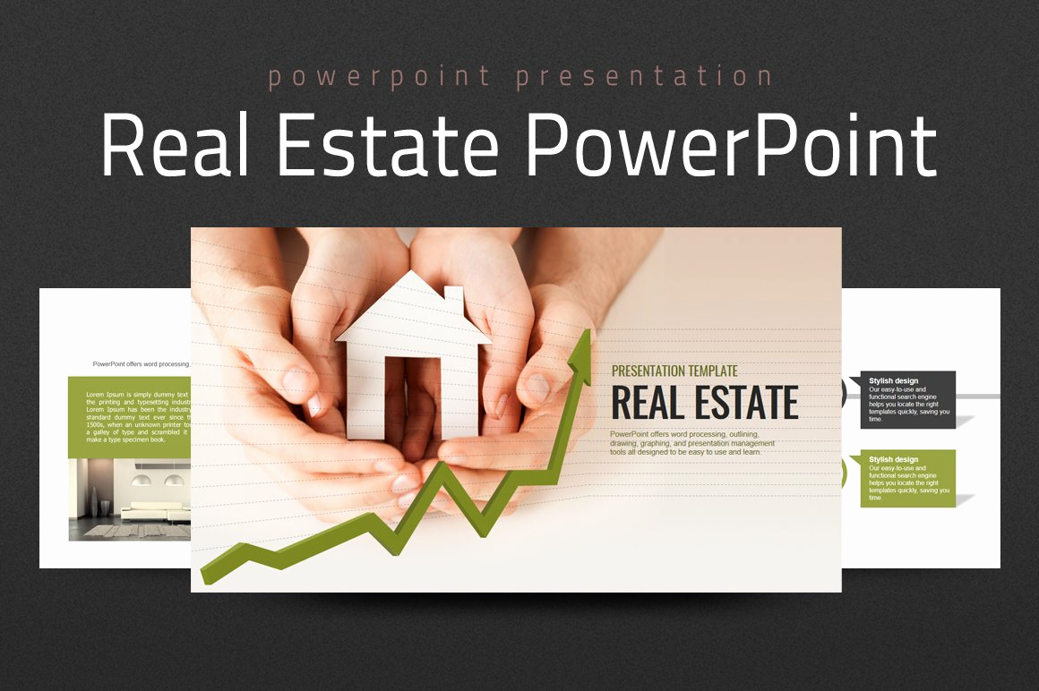 Real Estate Powerpoint Template then Real Estate Powerpoint Template Powerpoint Templates