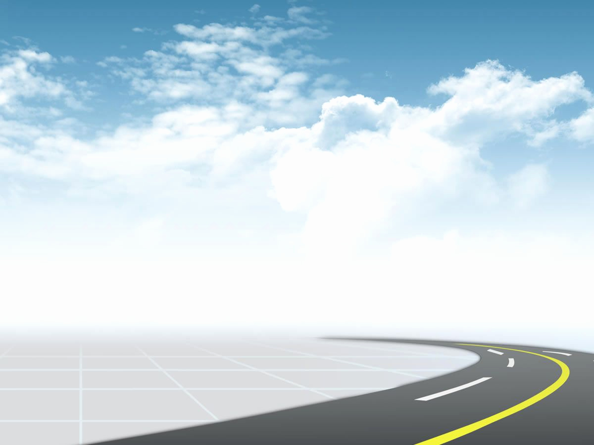 Road Powerpoint Template or Transportation Road Background Background Powerpoint