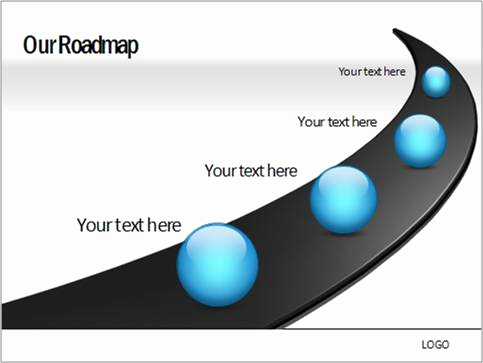 Road Powerpoint Template then How to Create A Roadmap with Milestones In Powerpoint