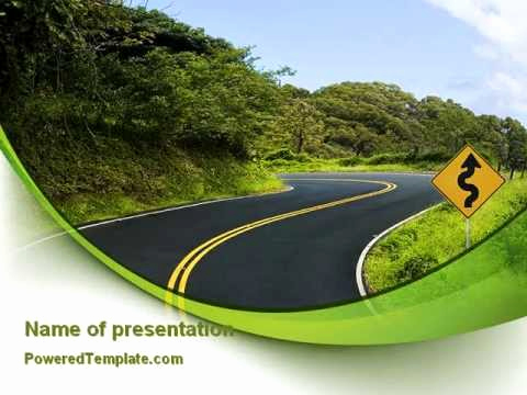 Road Powerpoint Template then Long and Winding Road Powerpoint Template by