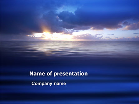 Sea Powerpoint Template for Sea Water Powerpoint Template Backgrounds