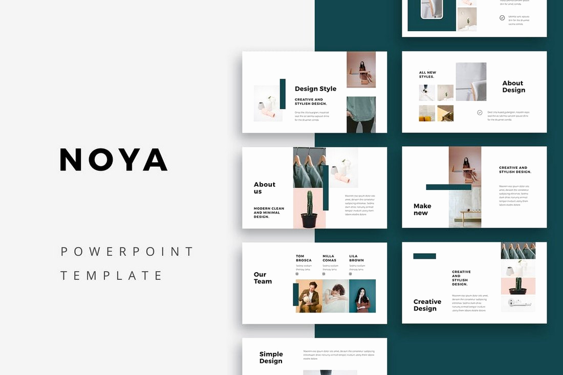 Simple Powerpoint Design Of 20 Simple Powerpoint Templates with Clutter Free Design