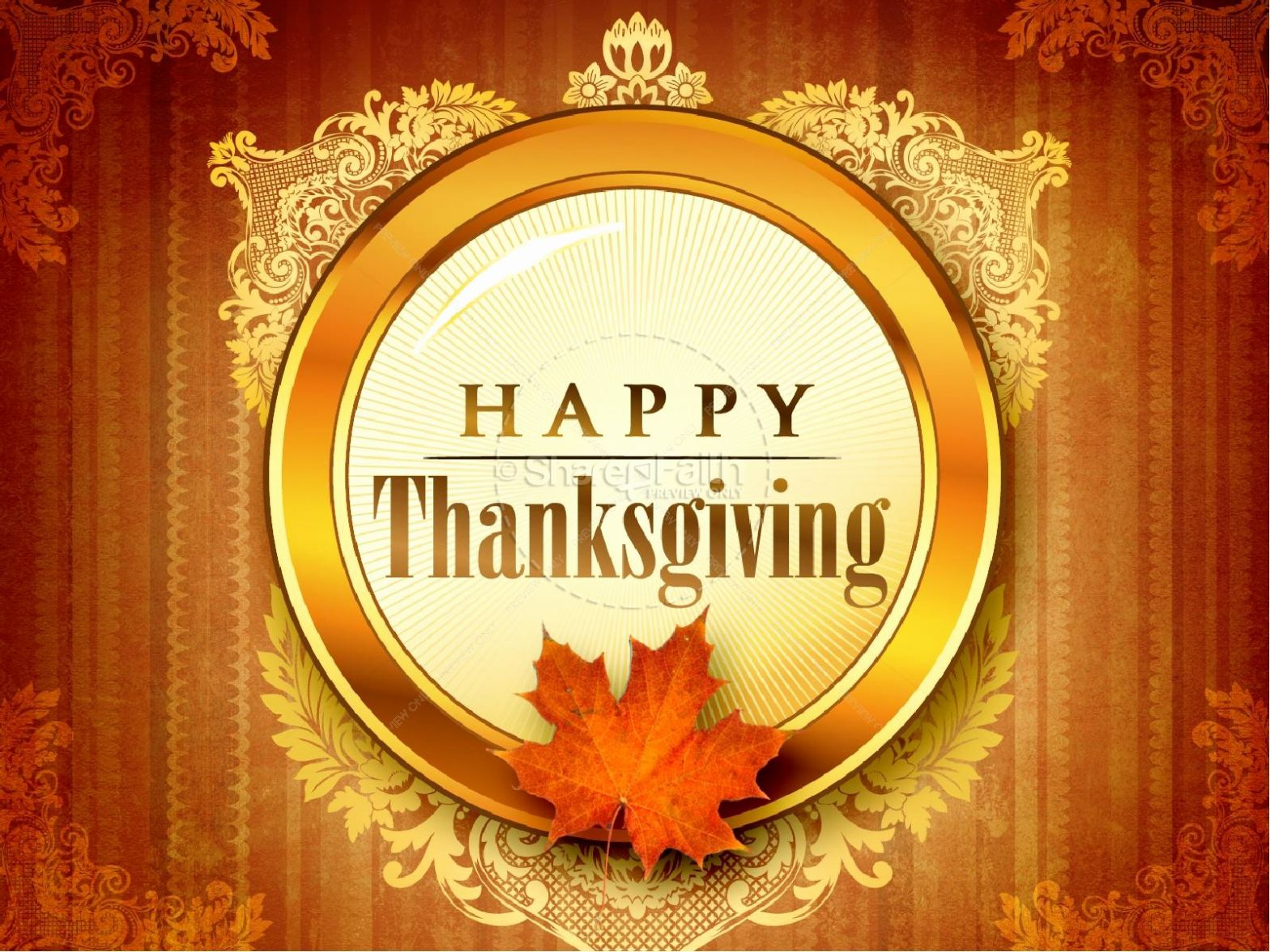 Thanksgiving Powerpoint and Thanksgiving Celebration Powerpoint Template
