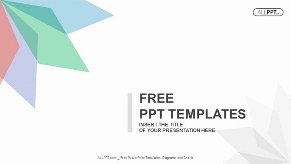 Abstract Ppt Template then Abstract Background with Leaves Of Different Colors