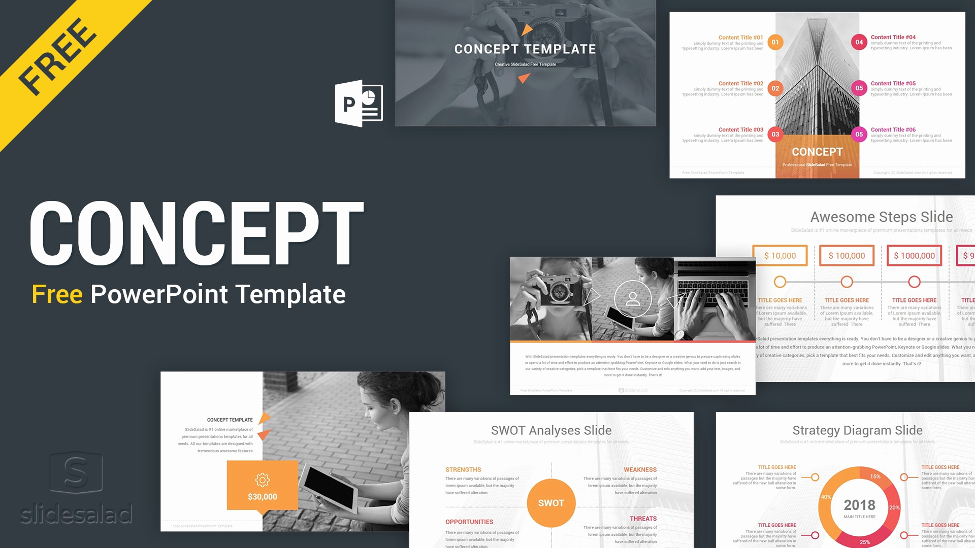 Design Powerpoint Template and Concept Free Powerpoint Presentation Template Free