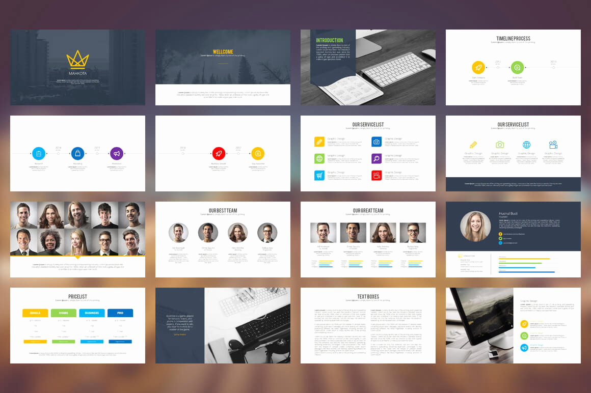 Design Powerpoint Template for 20 Outstanding Professional Powerpoint Templates