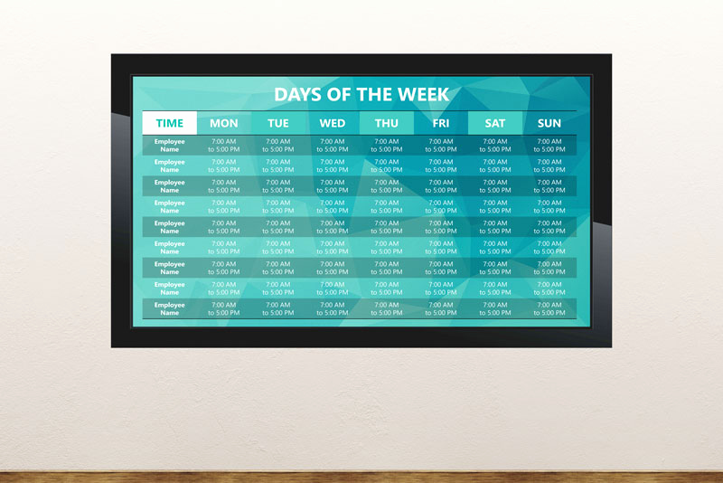 Digital Signage Powerpoint Template for Free Digital Signage Templates • Presentationpoint