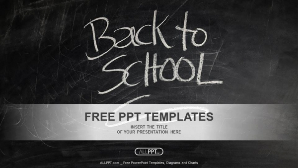 Free School Powerpoint Template for Back to School Powerpoint Templates
