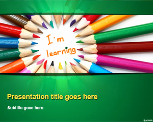 Free School Powerpoint Template or Education Powerpoint Templates