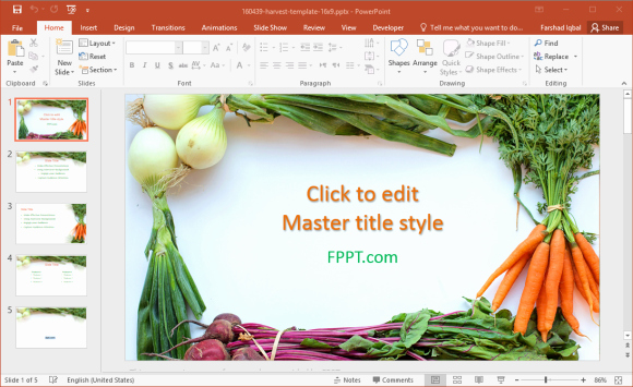 Healthy Food Powerpoint for Free Healthy Food Powerpoint Templates