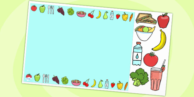 Healthy Food Powerpoint then Healthy Eating Editable Powerpoint Background Template