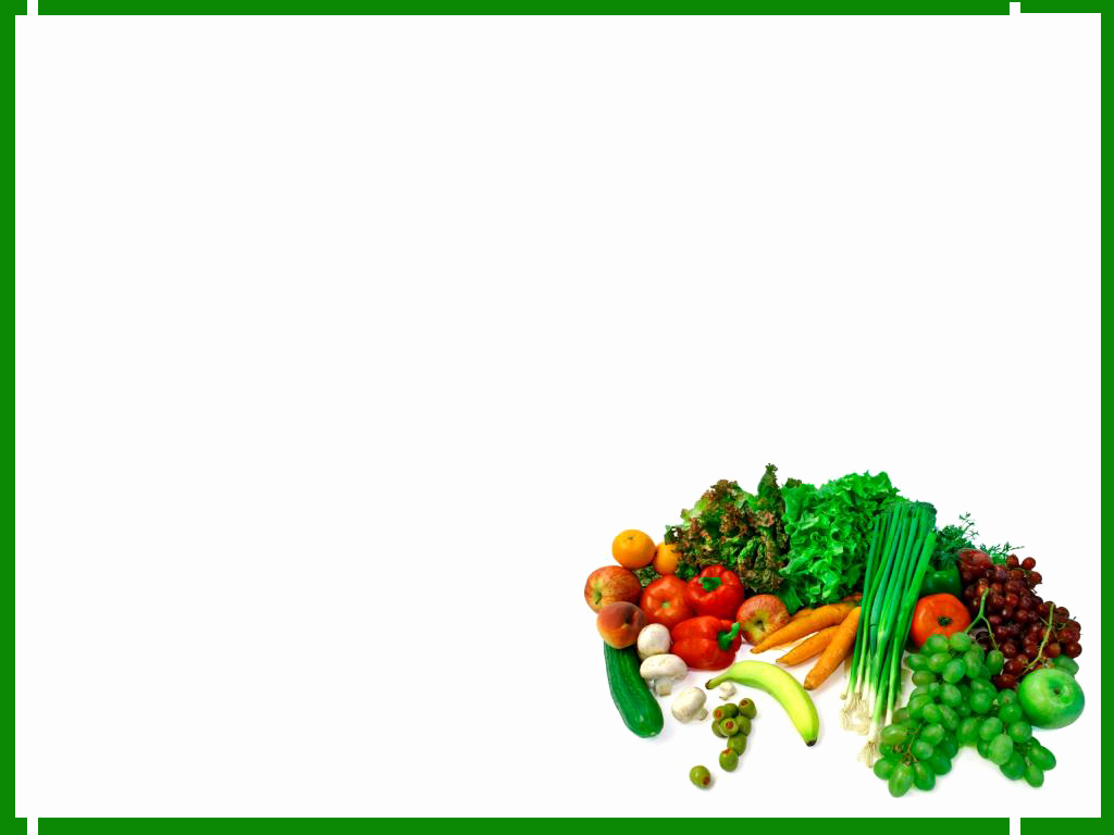 Healthy Food Powerpoint then Healthy Food Border