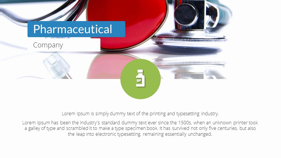 Pharmacy Powerpoint Template or Pharmacy Powerpoint Presentation Template by Sananik