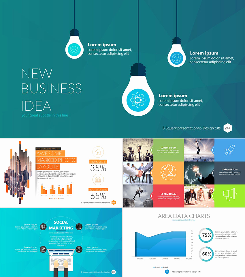 Professional Powerpoint Presentation Template and 22 Professional Powerpoint Templates for Better Business