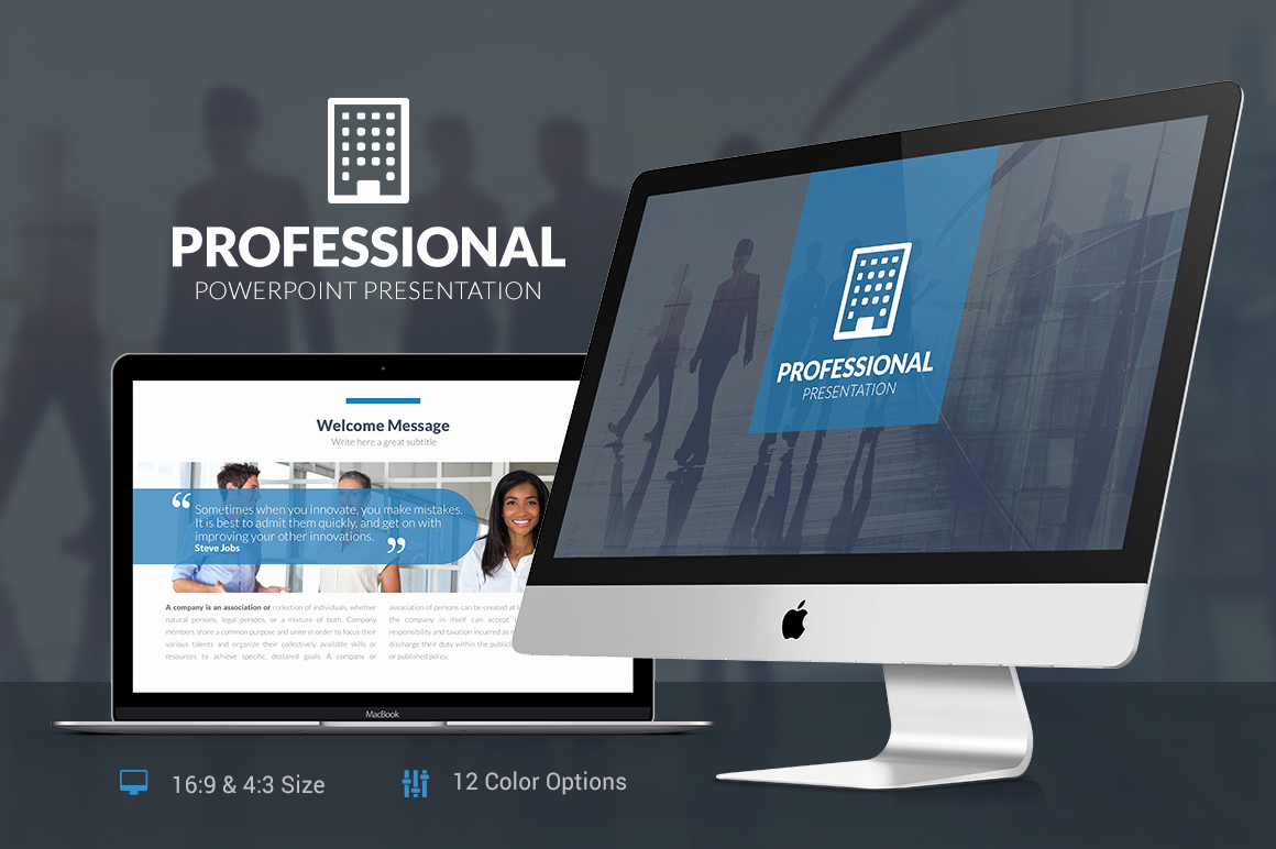 Professional Powerpoint Presentation Template Of Professional Powerpoint Template Presentation Templates