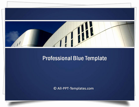 Professional Powerpoint Presentation Template or Powerpoint Professional Blue Template