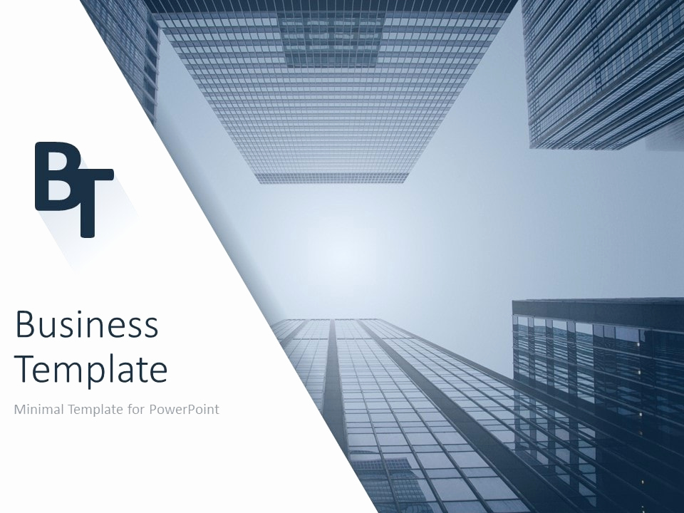 Architect Powerpoint Template and Minimalist Business Powerpoint Template