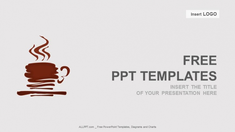 Coffee Powerpoint Template for Coffee Abstract Powerpoint Templates Download Free