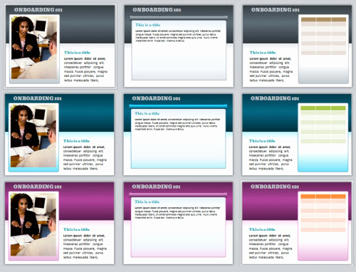 Color Powerpoint Template and Here's A Free Powerpoint Template & Font