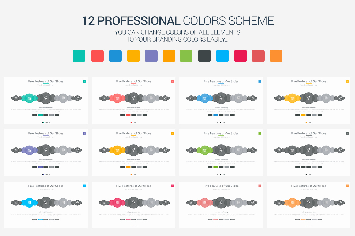 Color Powerpoint Template Of Elite Powerpoint Template Presentation Templates On