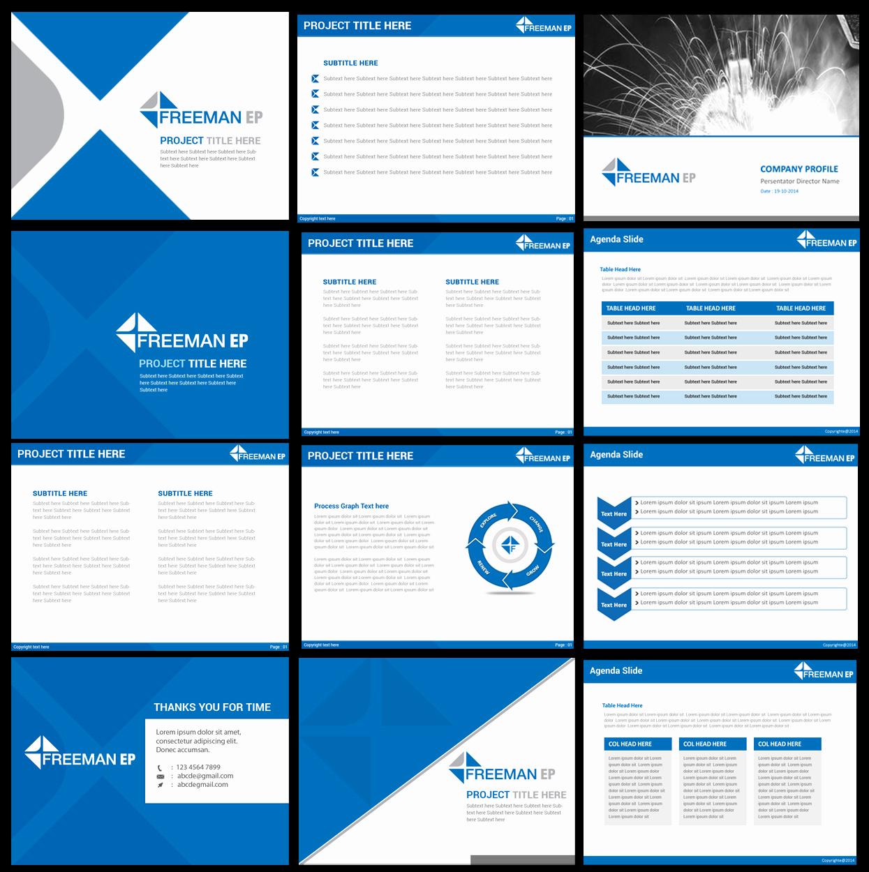 Design Powerpoint Template or Powerpoint Design for todd Self by Best Design Hub