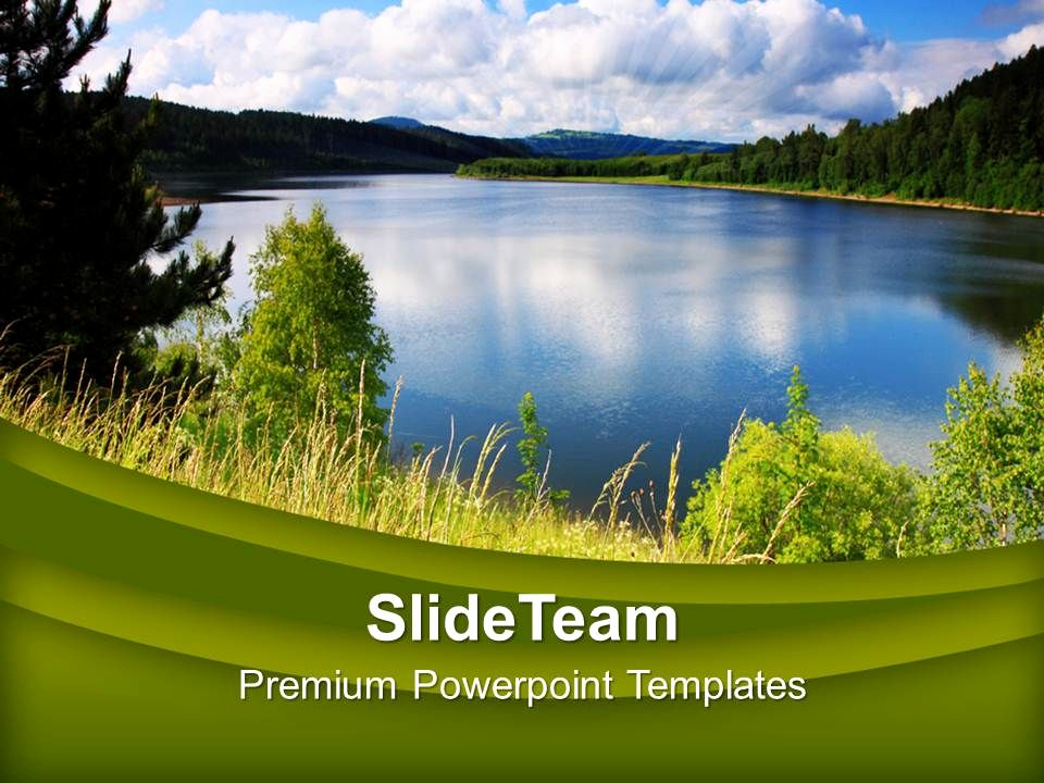 Environment Powerpoint Template for Green Natural Environment Beauty Powerpoint Templates Ppt