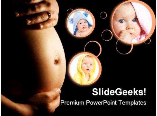 Family Powerpoint Templates or Pregnancy Concept Family Powerpoint Backgrounds and