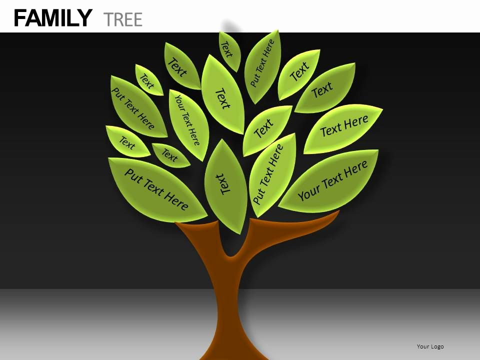 Family Tree Powerpoint Template for Family Tree Powerpoint Presentation Slides Db