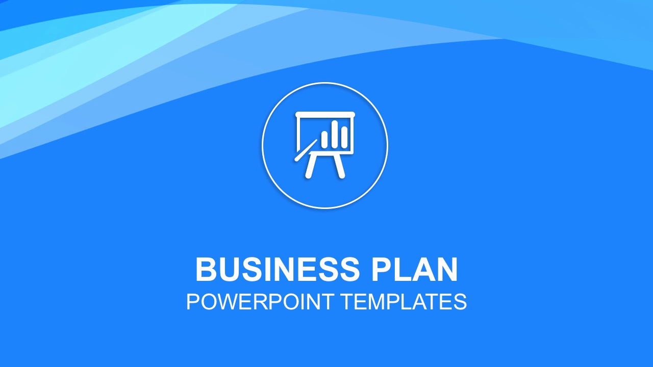 Free Business Plan Powerpoint Template then Business Plan Powerpoint Templates
