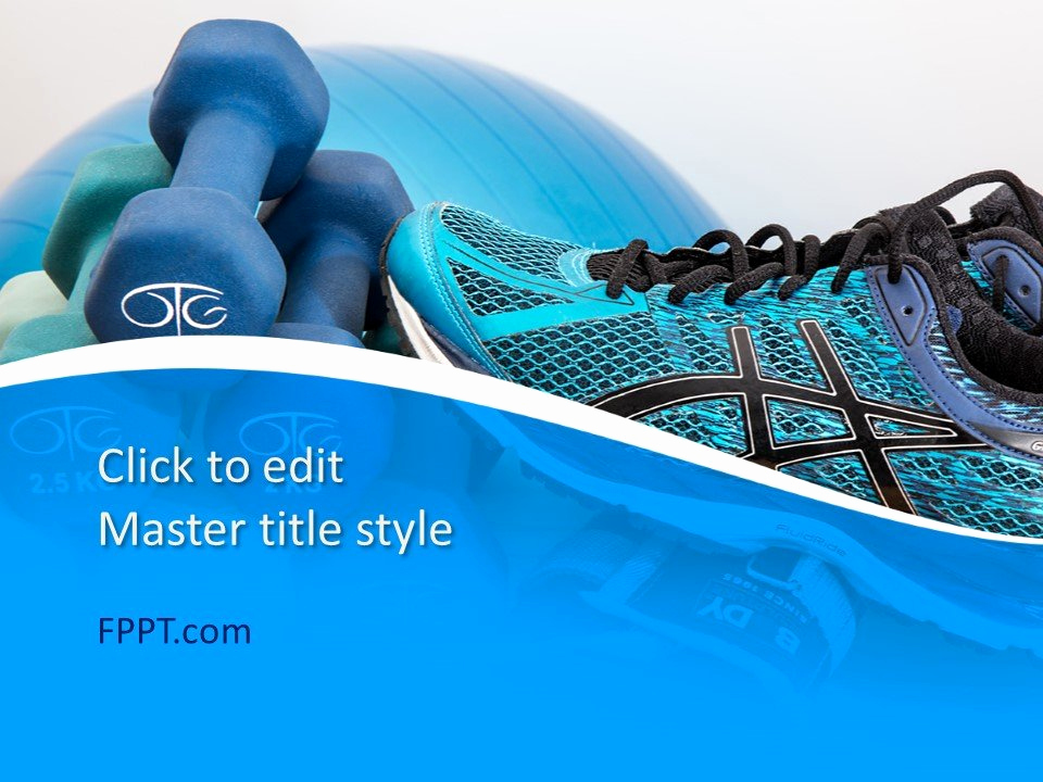 Free Sport Powerpoint Template or Free Blue Powerpoint Templates