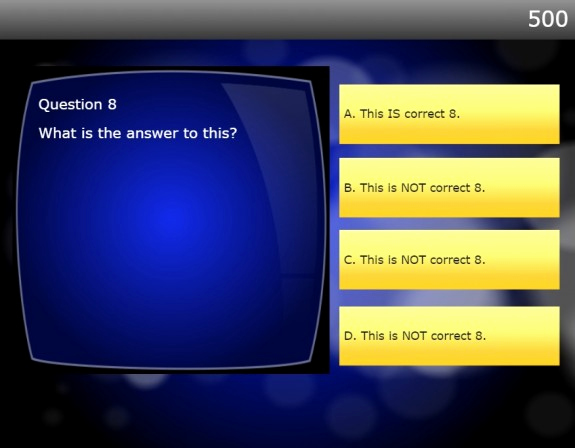Game Show Powerpoint Template and Trivia Powerpoint Template Rebocfo