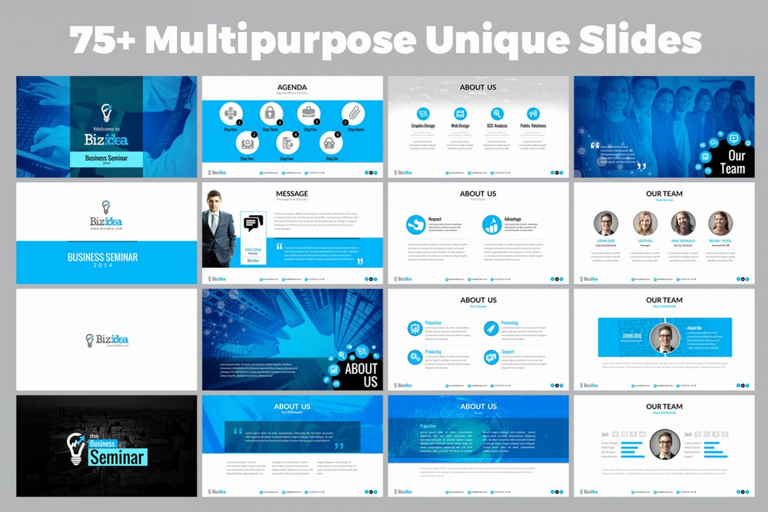 Industry Powerpoint Template Of Business Presentation