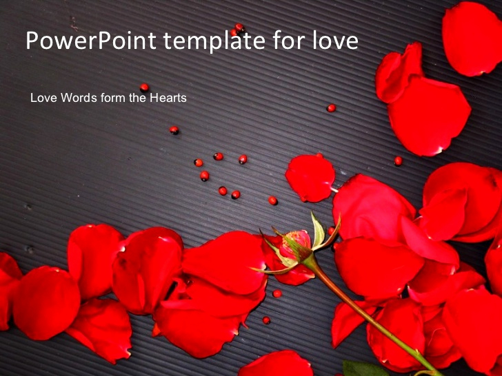Love Power Point Template for Powerpoint Template for Love