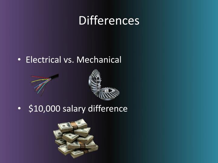 Mechanical Engineering Ppt for Ppt Electrical Engineering Vs Mechanical Engineering