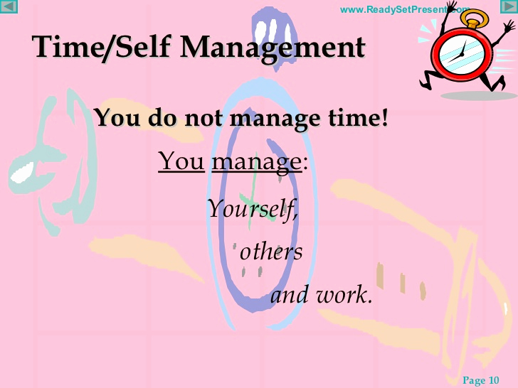 Time Management Powerpoint Of Time Management Powerpoint
