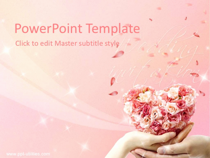 Wedding Ppt Template and Free Wedding Ppt Template