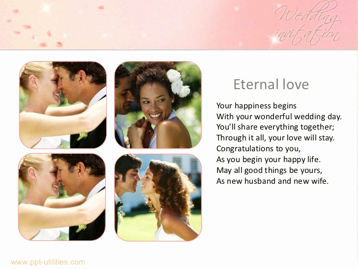 Wedding Ppt Template Of Free Wedding Ppt Template