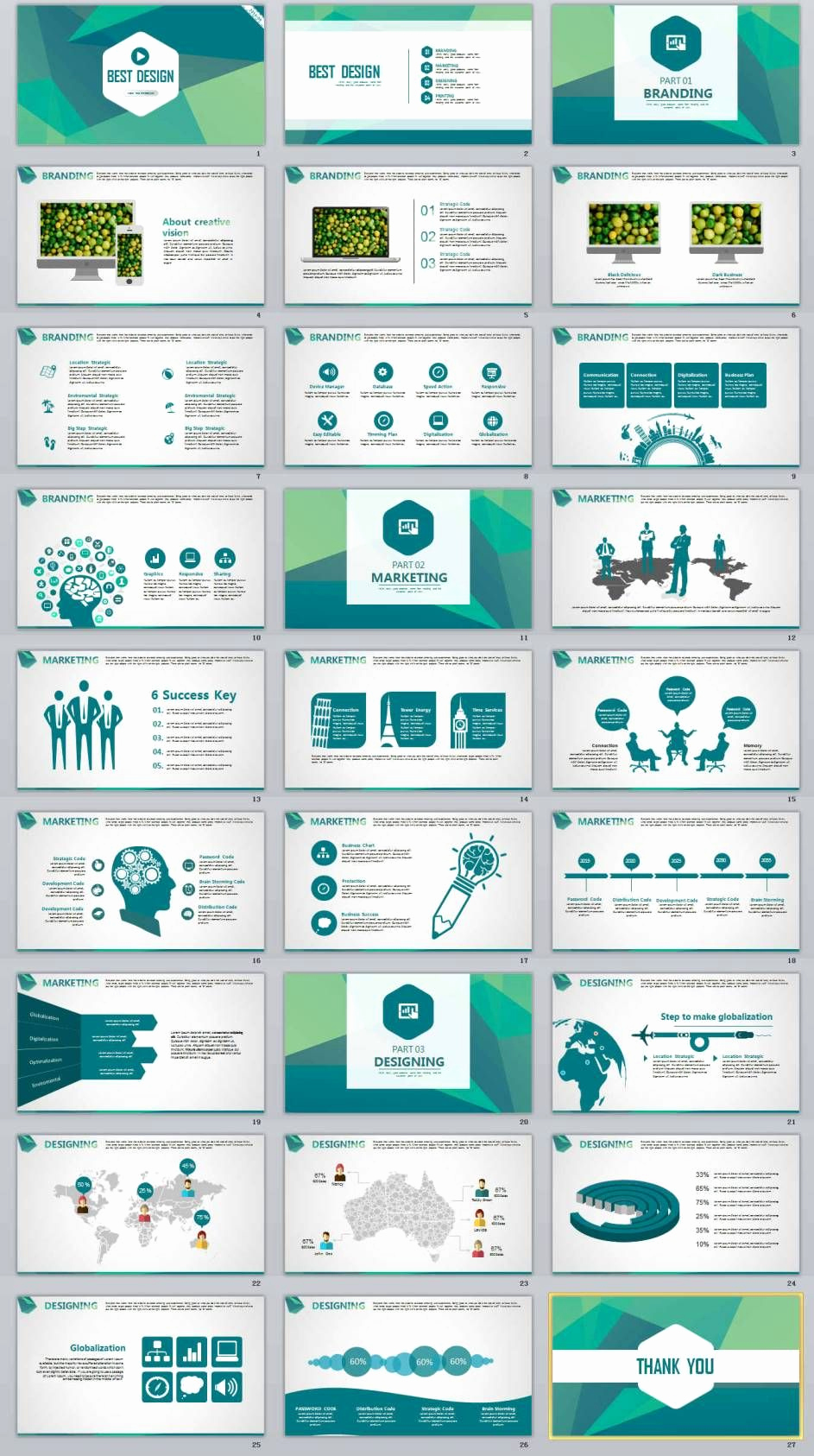 Design Powerpoint Template and 27 Best Design Business Professional Powerpoint Templates