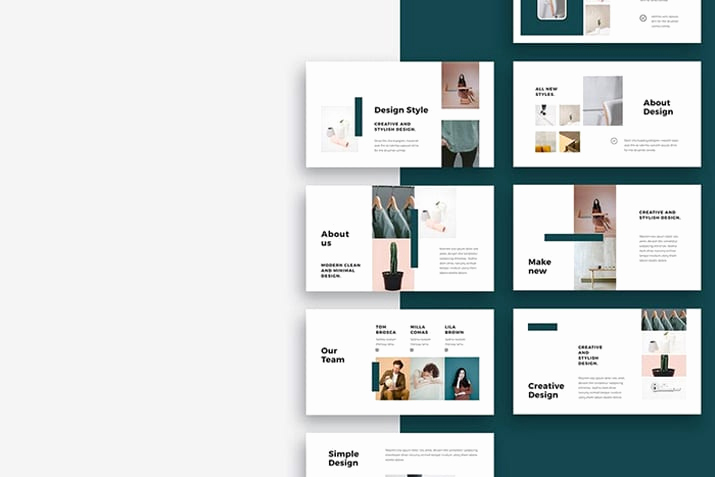 Design Powerpoint Template Of 20 Simple Powerpoint Templates with Clutter Free Design