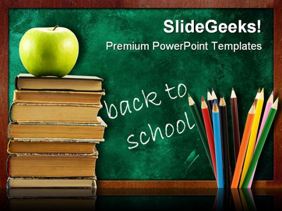 Free School Powerpoint Template and Educational Powerpoint Templates