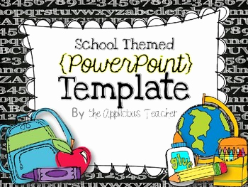 Free School Powerpoint Template Of Back to School Powerpoint Template by the Applicious