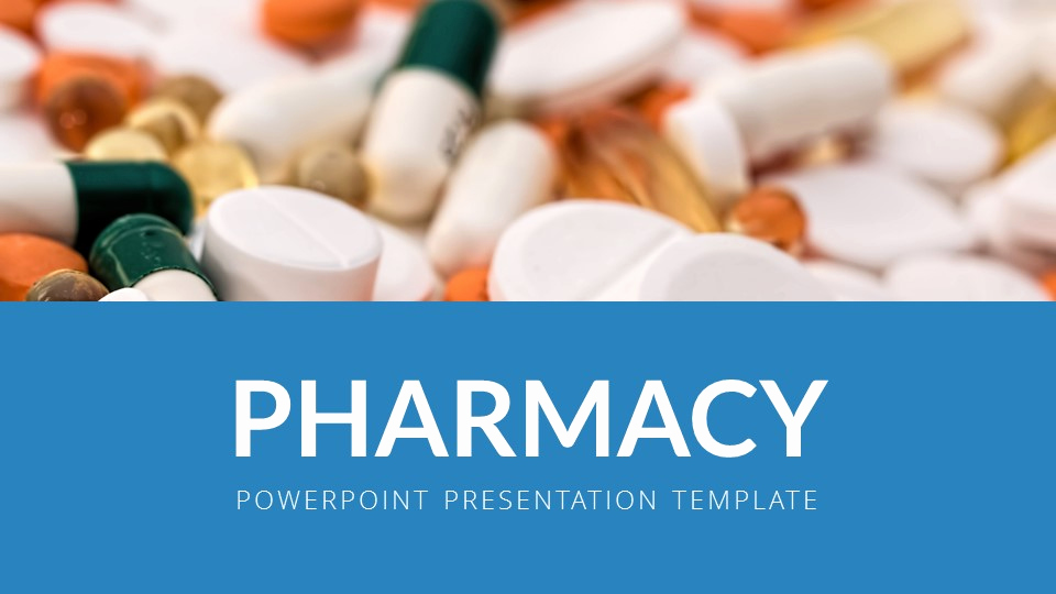 Pharmacy Powerpoint Template Of Pharmacy Powerpoint Presentation Template by Sananik