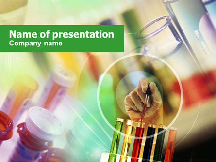 Pharmacy Powerpoint Template or Pharmacy Testing Powerpoint Template Backgrounds